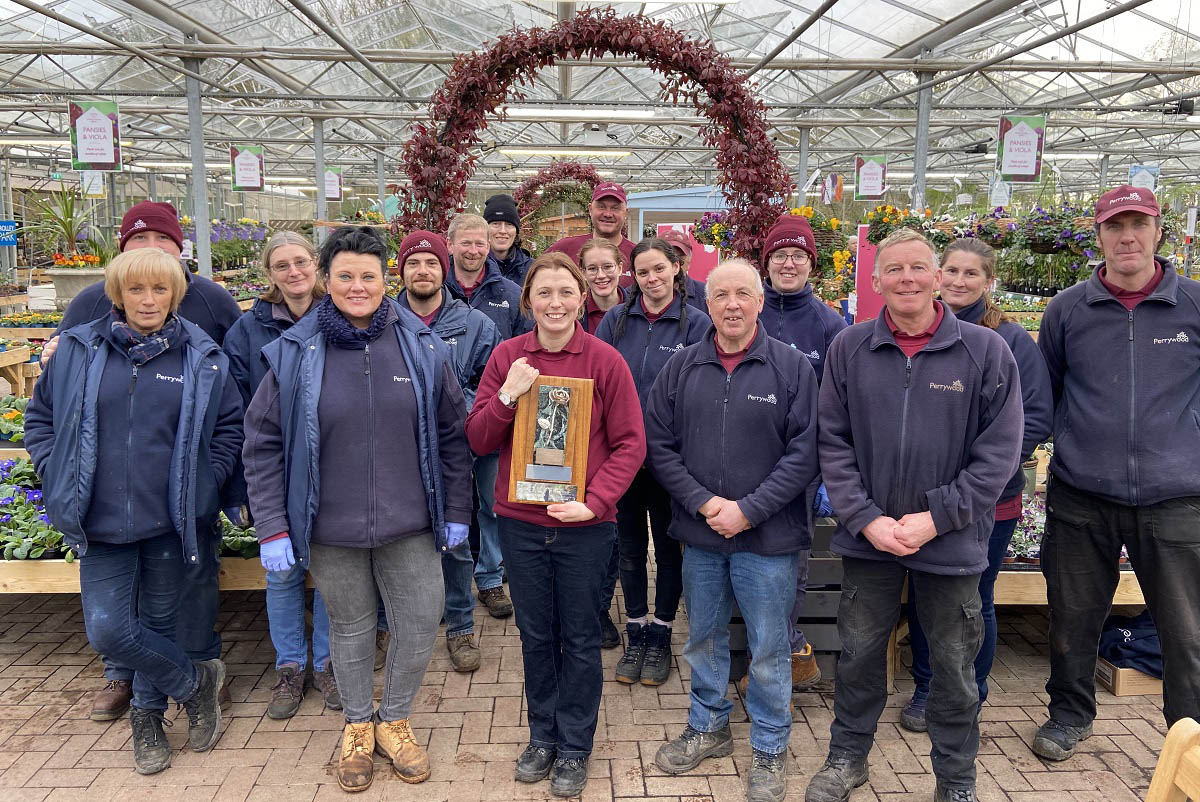 Perrywood Garden Centre Celebrates Award Wins at the National Garden Centre Association Conference