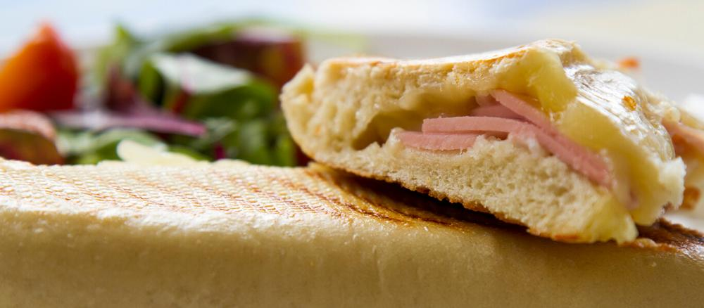Cheese and Ham Panini