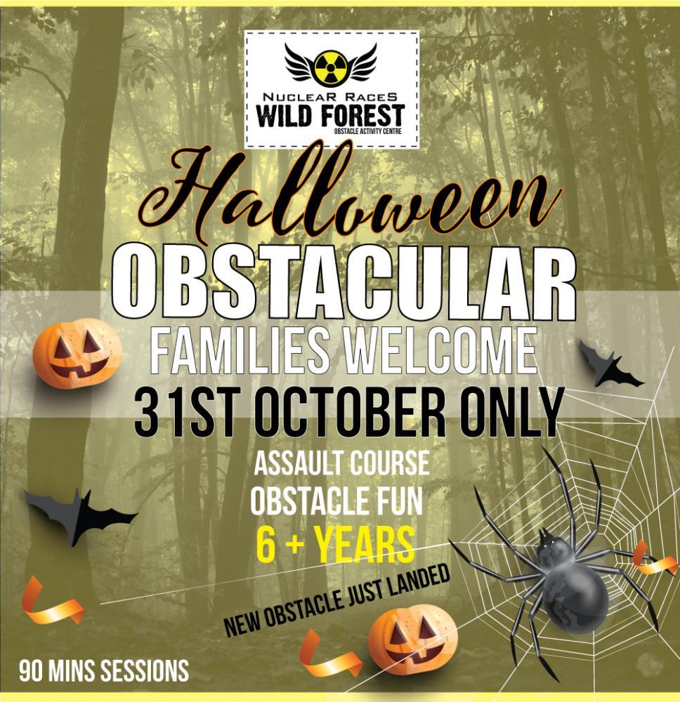 Halloween Day Obstacular