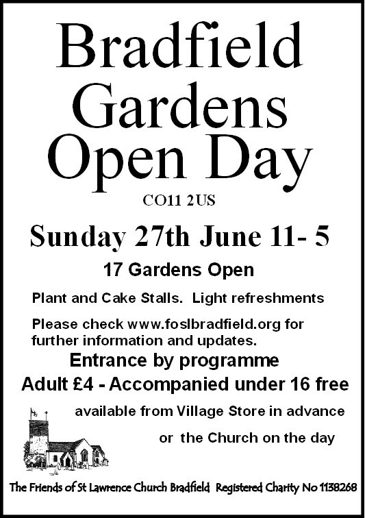 Bradfield Gardens Open Day