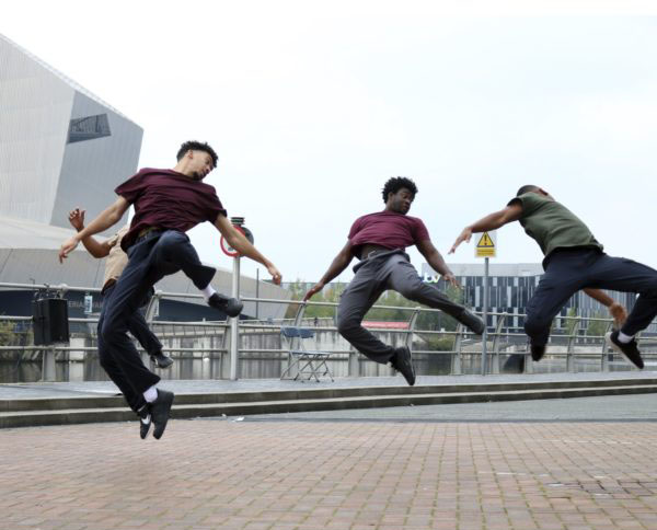 Free Dance Performance of Born to Protest