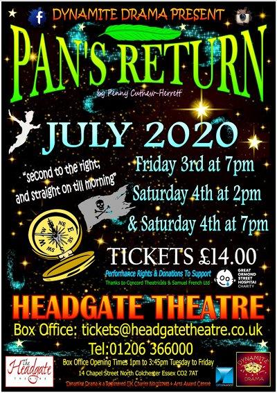Pan's Return by Penny Cuthew-Herrett