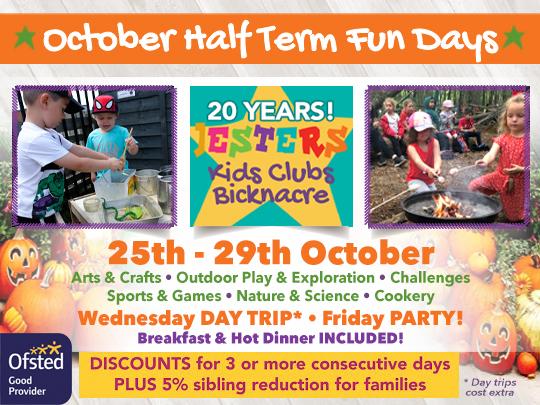 October Half Term Children's Activity Days
