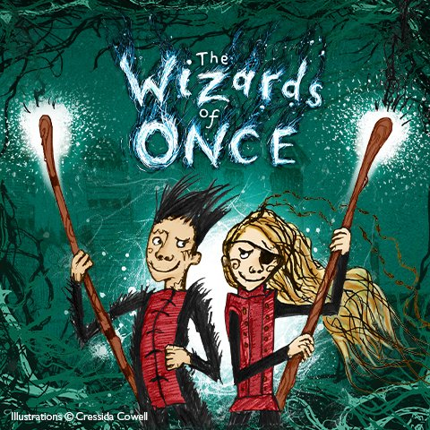 The Wizards of Once Halloween Quest at Audley End