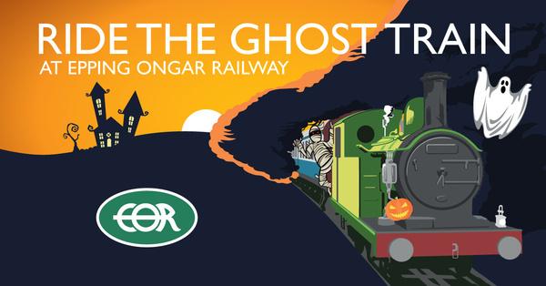 Fright Week at Epping Ongar Railway
